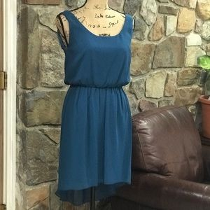 City Triangles high low dress size M